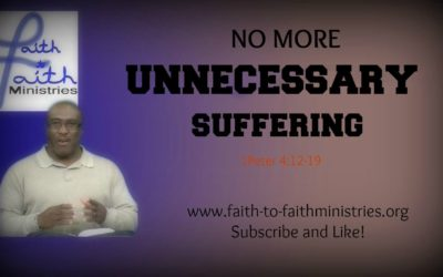 Unnecessary Suffering with Nelson Robertson
